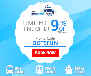 Bus Online Ticket - Limited Time Offer!